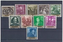 LOTE 212  ///  (C060)  ESPAÑA  1959   - EDIFIL 1238/47** MNH     DIEGO VELAZQUEZ. - 1931-Hoy: 2ª República - ... Juan Carlos I