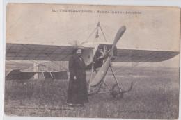 THAON-LES-VOSGES - Madame Delait La Femme à Barbe En Aéroplane - Avion - Aviation - Thaon Les Vosges