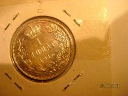 Serbie 1 Dinar 1915 - Serbie