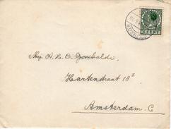 1935 Brief Van OOSTHUIZEN Naar Amsterdam Met Inhoud - Periode 1891-1948 (Wilhelmina)