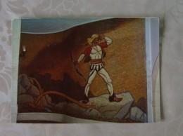 "ALBANIE GJERGJ KASTRIOTI MUSEUM IN KRUJA "" THE CALL"" MOSAIC BY GAVRIL PRIFTULI AND NIKOLET VASIA - Albanië"
