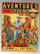 Aventures Film Tex-Bill N°38 Paix Sur La Red River - Rudy-le-justicier La Piste Tragique 1er épisode De 1955 - Arédit & Artima