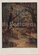 Painting  By G. Myasoyedov - Autumn - Forest - Russian Art - 1940 - Russia USSR - Unused - Schilderijen