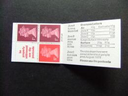 REINO UNIDO Grande Bretagne 1979 Queen Elizabeth II Yvert Carnet 699 A ** MNH - 1952-.... (Elizabeth II)