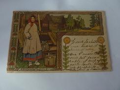 IVAN BILIBIN CP ART NOUVEAU CIRCULEE 1906  RUSSIE RUSSIAN TALES SKAZKY TYPE  RUSSE - Bilibine