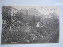 CLICHY - LES JARDINS DE LA PLACE SACCO-VANZETTI  - Marcelin BACHELARD Instituteur De Brousse NOGENT En BASSIGNY - 1931 - Clichy