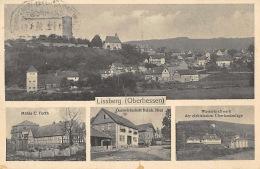 63683 Lissberg, Ortenberg, Gasthaus, Mühle, Kraftwerk, Panorama , AK, Hessen - Unclassified