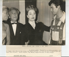 Jean COCTEAU - Sylvia MONTFORT - Edwige FEUILLERE - Gérard BARRAY - Famous People