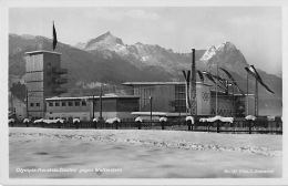 82467 Garmisch-Patenkirchen, Olympia-Kunsteisstadion, Wetterstein , AK, Bayern - Ohne Zuordnung