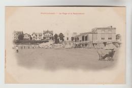 CPA PIONNIERE PONTAILLAC (Charente Maritime) - La Plage Et La Restauration - France