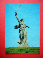 The Motherland Sculpture - Mamayev Hill - Volgograd - 1983 - USSR Russia - Unused - Russie
