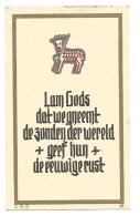 252.  JEAN-ANTOINE-PAUL  THEUNISSEN  -  °TONGEREN  1881 /  +ST. AMANDSBERG-bij-GENT  1942 - Images Religieuses