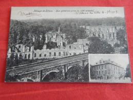 VILLERS LA VILLE    - Abbaye De Villers  - Vue Générale Prise Du Côté Oriental  -  1903  -  (2 Scans) - Villers-la-Ville