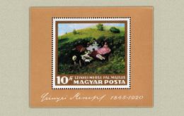 Hungary 1966. Paintings - I. - Sheet MNH (**) Michel: Block 56A /14 EUR - Hungary