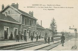 Esternay - La Gare (Façade Est) - Esternay