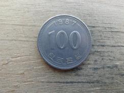 Koree  Du Sud  100  Won  1987  Km 35 - Korea, South