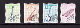 France Preo Preoblitété 1992 Serie Complète Neuve **  N° 224 à 227 Cote 8€ - Préoblitérés