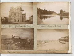 AVRANCHES (Eglise En Construction) - LUC SUR MER - LANGRUNE - CAEN - Old (before 1900)