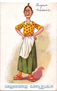 Fantasie Fantaisie - Humor Humour - Femme Vrouw - Illustr Burton - Je Voudrais Bien Voir ... - Humor