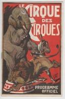 "° PROGRAMME 1946 NANCY  ° "" AMAR "" LE CIRQUE DES  CIRQUES ° - Programs"
