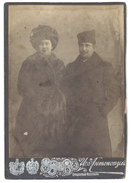 Photo Sur Carton Couple Russe / Ukraine ( Odessa ) - Luoghi
