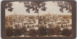 ORIGINALE-PHOTO-STEREO-1901-SUISSE-SWITZERLAND-BERNE-AMERICAN-STEREOSCOPIC-COMPANY-VINTAGE-VOYEZ 2 SCANS-TOP ! ! ! - Stereoscopic