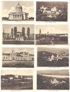 8 Cartes Non-postales Moldavie - Chisinau, Manastirea ( Catedrala, Gara, Basarabia ...) - Moldavie