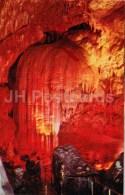 Tbilisi Hall . Curtain - New Athos Cave - Novyi Afon - Abkhazia - Turist - 1976 - Georgia USSR - Unused - Géorgie