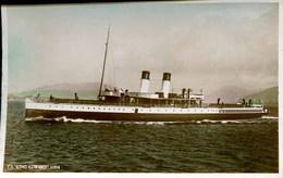 SCOTTISH SHIPPING - TS KING EDWARD RP  Ship2 - Steamers