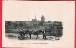 Egreville  --  Vue Générale Prise De La Gare  --  Réparée - France