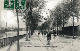 CLICHY  -  Quai De Clichy (coté Droit) - Clichy