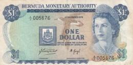 BERMUDE - BILLET DE UN DOLLAR - 1976 - Bermudes