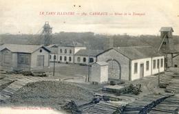 Tarn Illustré- Carmaux - Mines De La Tronquié - Stock De Bois - Carmaux