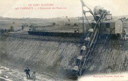 Tarn Illustré- Carmaux - L'excavateur De L'Endrevier - Carmaux