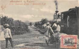 GUATEMALA / Esperando El Tren - Beau Cliché - Oblitération - Guatemala