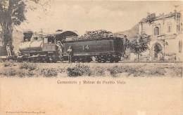 GUATEMALA / Cementerio Y Ruinas De Pueblo Viejo - Tren - Guatemala