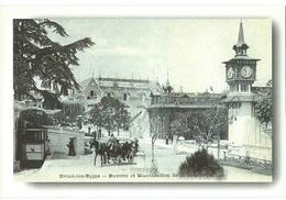 Evian, Funiculaire, Le Tramway En 1898 - Evian-les-Bains