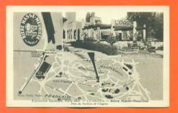 """CPA 75 Paris """" Exposition Coloniale 1931 - L'oasis - Bière Masse Meurisse Prés Du Pavillon De L'algérie """"  LJCP 10 - Exposiciones"""
