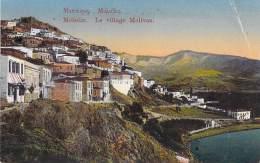 GRECE Greece - METELIN : Le Village Molivos - CPA Colorisée - - Grèce