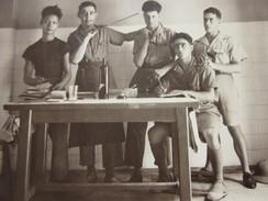 Cuisine à La 9é Coloniale Indochine Hanoi Tonkin 19 Juil 1937 Photographie -- Photos Photo Originale Guerre,Militaire - War, Military