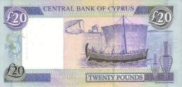 CYPRUS P. 63c 20 P 2004 UNC - Chypre