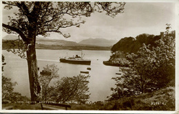 SCOTTISH SHIPPING -  LOCH NEVIS ARRIVING AT PORTREE RP Ship19 - Steamers
