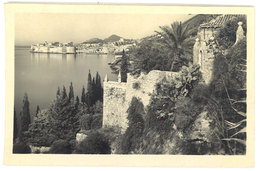 Cpa Croatie / Yougoslavie : Dubrovnik - Raguse - Pension Viktoria - Croatie
