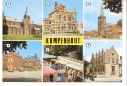 Kampenhout-Meerzicht-Kerk Van Reist-Oud Gemeentehuis-Kerk O.L.V.-St Jozef Rusthuis-Jaarmarkt-Kasteel TerBalkt - Kampenhout