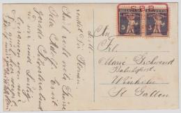 "1925, Roter Ra. Stp. "" SBB. Altstätten (S.G.) "" , #6724 - Briefe U. Dokumente"