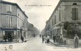 Tarn - Carmaux - Rue De La Gare - Buvette - Pub Kub - Carmaux