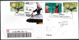 Spagna/Spain/Espagne: Raccomandata, Registered, Recommandé - 1931-Oggi: 2. Rep. - ... Juan Carlos I