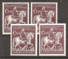DR 1945 // Mi. 907 ** 4x - Deutschland