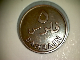 Bahrein 5 Fils 1965 - Bahrain