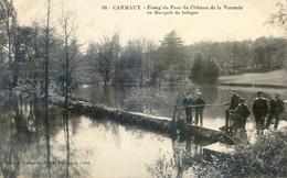 Tarn - Carmaux - Etang Du Parc Du Chateau De La Verrerie Au Marquis De Solages - Carmaux